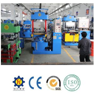 Double Molds Mechanical Type Rubber Molding Machine pictures & photos