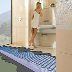 UL Approved Heating Mat Floor Heating System Wet Location pictures & photos