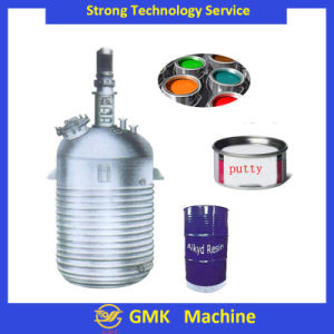 Industrial Reaction Kettle/ Tank with Heating Jacket pictures & photos