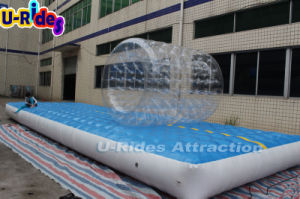 inflatable Air track with rolling ball for kids amusement park pictures & photos