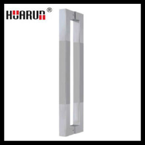 Stainless Steel Glass Door Handle/Square Shaped Handle (HR-217) pictures & photos