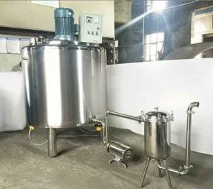 Electric Steam Heating Jacket Tank with Mixer Price pictures & photos