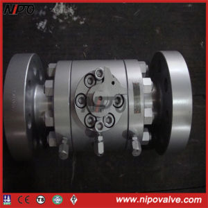2500lb Forged Steel Flanged Trunnion Ball Valve pictures & photos