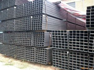Black Welded Steel Tube (Square or Rectangle Hollow Section) (ZL-ST) pictures & photos