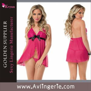 New Stylish Ladies Women Sexy Lingerie Lace Babydoll Lingerie (KLB1-160)