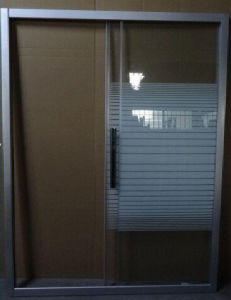 Two Doors Shower Screens with Quick Release Wheels pictures & photos