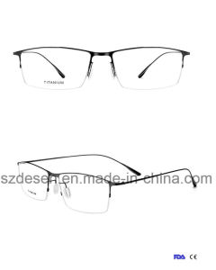 34c01678979 Wholesale Titanium Alloy Semi-Rimless Eyeglass Optical Frames Spectacle  Frames
