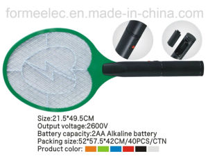 Battery Electric Mosquito Swatter C005 pictures & photos