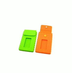 High Sale Silicone Business Card Holder pictures & photos