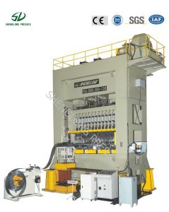 4000kn Closed Frame Twin Rod Digital Controlled Press Machine ISO