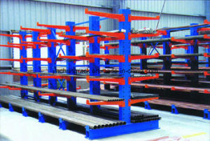 Warehouse High Quality Steel Double-Arm Cantilever Rack with Powder Coating pictures & photos