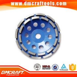 Double Round Diamond Grinding Cup Wheel pictures & photos