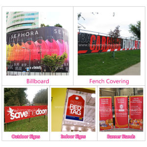 Outdoor Street Road Side Advertising Frontilit PVC Vinyl Flex Banner pictures & photos