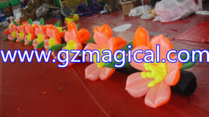 Advertising Inflatable Automatically Open Flowers LED Decoration pictures & photos