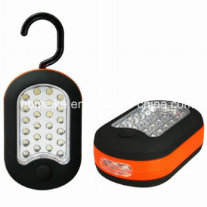 (24+3) 27LED Magnetic Hook Tool Work Light (MK-5105)