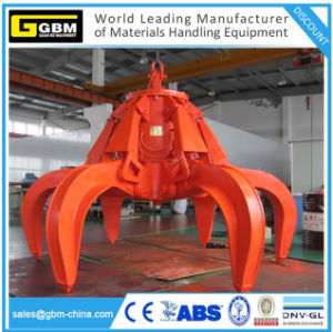 Hydraulic Orange Peel Refuse Grab Rotary Grapple for Power Plant pictures & photos