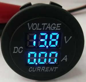 DC 8-32V Digital Voltage Volt Meter Motorcycle ATV Car Truck RV Boat Yacht 36mm pictures & photos