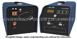High Quality Mini Solar Battery System Es-1207 pictures & photos