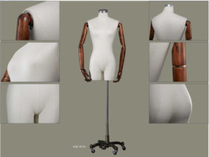 Female Dress Form with Wooden Arms pictures & photos