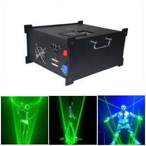 2W Green Laser Man Show System (GA-M-G5000) pictures & photos