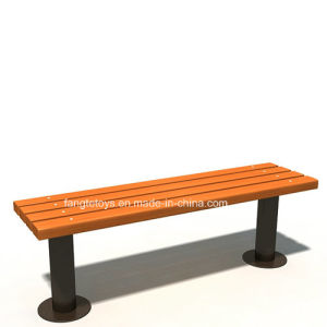 Park Bench, Picnic Table, Cast Iron Feet Wooden Bench, Park Furniture FT-Pb026