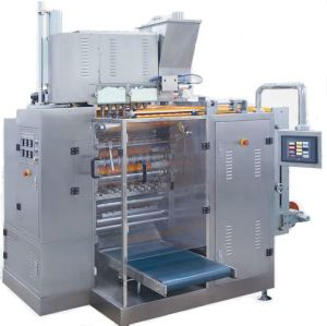 Four Sealing Pouch Powder Packaging Machine