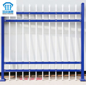 Rust-Proof/Antiseptic/High Quality Security Steel Fence for Outdoor