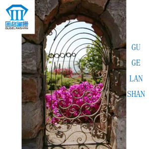 Rust-Proof/Antiseptic/High Quality Crafted Wrought Iron Single Gate pictures & photos