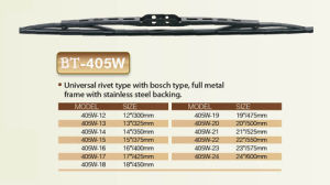 Auto Wiper Blade, Universal Wiper Blade pictures & photos