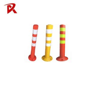 Top Quality 75cm Reflective Delineator Post Spring Warning Post pictures & photos