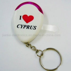 Promotion Gift LED Whistle Keyfinder Keychain (3117)