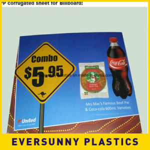 Corrugated Plastic Sheets 4X8 Coroplast for Advertising Sign pictures & photos