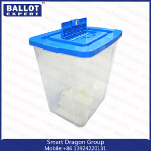 Eco-Friendly Transparent Plastic Election Ballot Box for Voting /Donation Box