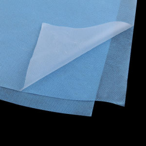 Laminated Hydrophilic PE Coated Spunbond Nonwoven Fabric pictures & photos