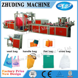 New Model Non Woven Fabric Bag Making Machine Price for Flat Bag/Rope Bag pictures & photos