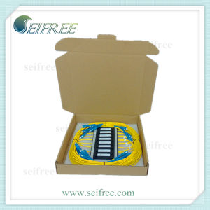 1X2 Plastic Box Optical Fiber PLC Splitter (FTTH, CATV) pictures & photos