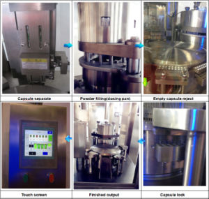 Low Price High Precision Hard Capsule Filling Machine Sale pictures & photos