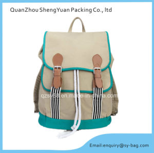 Leisure Sport Bag Canvas Backpack for Traveling