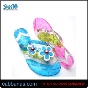 476ce0f836eb China Many Colors Comfort Cheap Jelly Beach Thong Slippers for Women ...