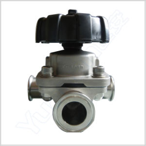 China sanitary 3 way diaphragm valve manual china sanitary sanitary 3 way diaphragm valve manual ccuart Choice Image