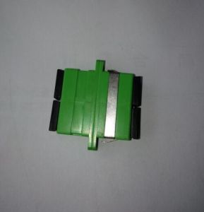 Fiber Optic Adapters for Sc/APC Duplex Green pictures & photos