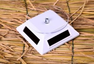 Solar Power Rotating Display Stand Amorphous Silicon Classic Item 037
