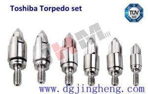 Toshiba Ec100n II-2y D28 Torpedp Set for Injection Screw