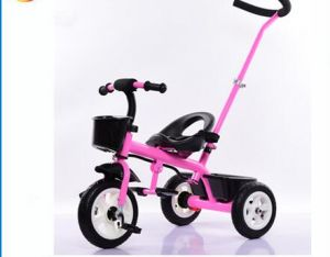 2016 Factory Price Tricycle for Children/Baby Toys Trikes with Push Bar pictures & photos