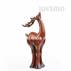 Polyresin Reindeer Tabletop Statue (WTS0009A) pictures & photos