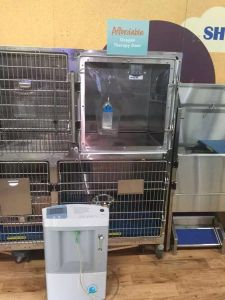 Hot Sale Veterinary Oxygen Cage pictures & photos