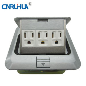 Rh-4 Round Floor Socket Floor Mounted Sockets pictures & photos