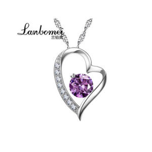 China fashion jewelry heart shape pendant necklace 925 sterling fashion jewelry heart shape pendant necklace 925 sterling silver jewelry aloadofball Image collections