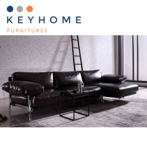 Factory Price Genuine Leather Sofa with 3 Seater (SF-013)