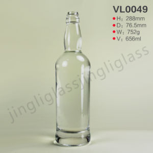 Vodka /Gin /Whiskey Bottle Simple Style pictures & photos